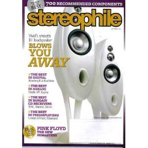 STEREOPHILE Magazine (10/11) Vivids Smooth B1 Loudspeaker