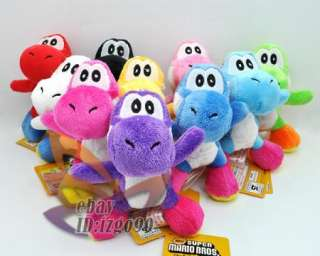 Lot 10 Super Mario YOSHI 4.5 Plush Toy MW558