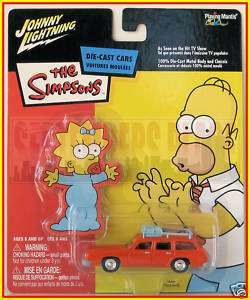 Johnny Lightning The Simpsons Marges Car