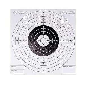Bullseye Paper Targets, 5.5x5.5, 100 Per Box Sports