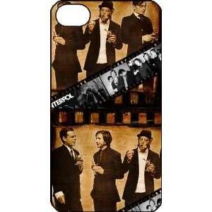 Interpol iPhone 4 iPhone4 Black Designer Hard Case Cover