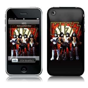 protector iPhone 2G/3G/3GS KISS   Love Gun Cell Phones & Accessories