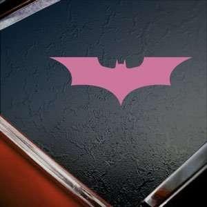 Batman Pink Decal Truck Bumper Window Vinyl Pink Sticker