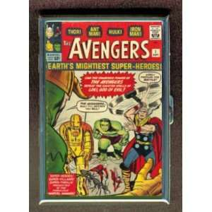 AVENGERS #1 THOR HULK IRON MAN ID Holder, Cigarette Case