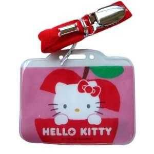 Hello Kitty License and Card Travel Holder (Red)