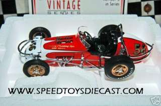 GMP JIM HURTUBISE STERLING PLUMBING VINTAGE SPRINT CAR 1:18 CHEVY