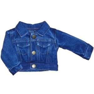 Toy Jean Jacket for American Girl dolls Toys & Games