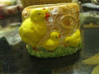 Chicken Chicks flower pot made in japan cute
