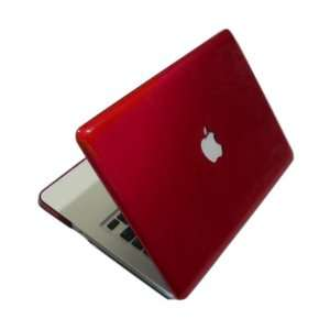 Red METALLIC Crystal Hard Case Cover for Macbook PRO 13