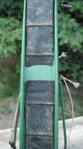 1950s John Deere Hay Elevator w/ Metal Rims and Rubber Belt   NR
