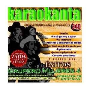 Karaokanta KAR 4340   Guperos Mujeres IV Spanish CDG