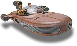 Revell 1874 Star Wars X 34 Landspeeder Snap Tite plastic model kit new