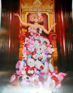 LADY GAGA~ HELLO KITTY 50TH ANNIVERSARY COSTUME POSTER