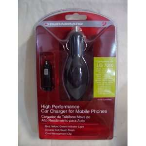 High Performance Car Charger For LG Mobile Phones