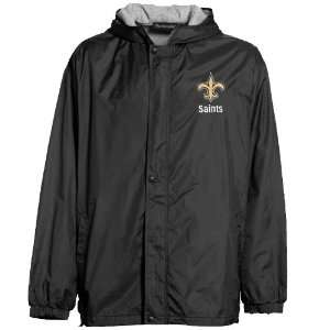 New Orleans Saints Legacy Nylon Full Zip Hooded Jacket