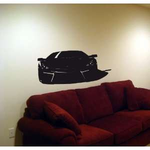 Wall Vinyl Sticker Car 2008 Lamborghini Reventon 005
