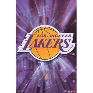 Los Angeles Lakers Logo Poster 3545