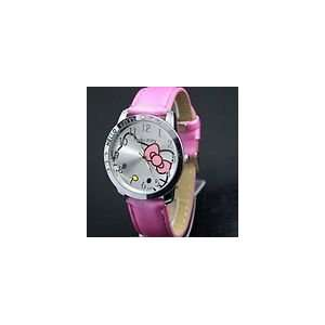 Hello Kitty Large Face Quartz Watch   Pink Band + Hello Kitty