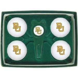 Baylor University Bears NCAA Golf Ball & Divot Gift Set