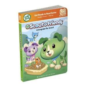 LeapFrog Tag Junior Book Scout And Friends A Surprise for