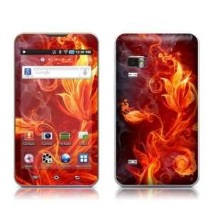 Flower Of Fire Design Protective Decal Skin Sticker for