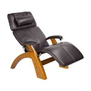 Manual Zero Gravity Recliner with Maple Base, Espresso Premium Al