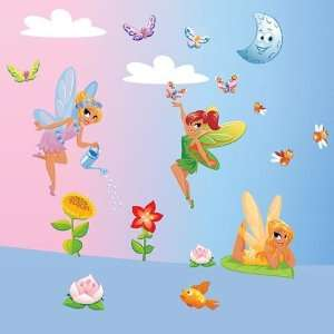 Elves   Giant Wall Sticker Decals (Kit 82.7 x 39.4 Inches