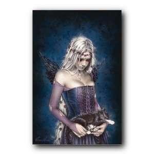 Angel Of Death Poster Victoria Frances Cat Goth Fp30818