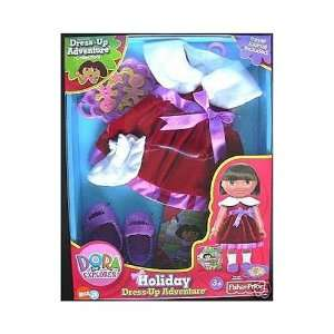 Dora the Explorer Holiday Dress up Adventure Toys & Games