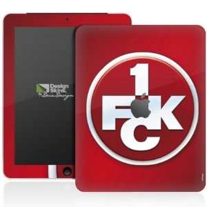 Design Skins for Apple iPad 1 [with logo]   1. FCK Logo Design