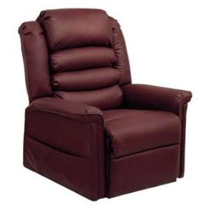 Invincible Power Lift Recliner in Cabernet Furniture & Decor