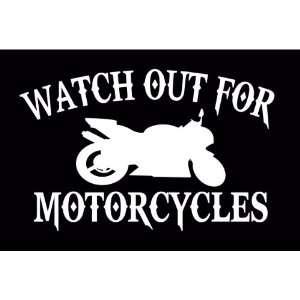 Out For Motorcycles Street Bike Cruiser Vinyl Decal Sticker CUSTOM