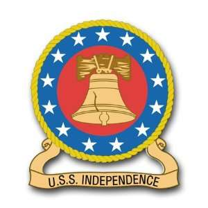 US Navy Ship Independence CVA 62 Decal Sticker 3.8 6 Pack