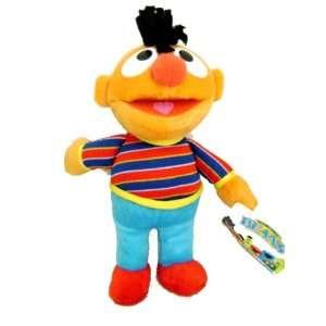 Sesame Street Ernie Beans Plush Doll 9