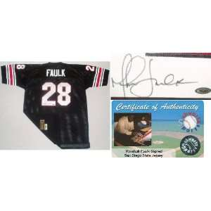 Marshall Faulk Signed San Diego State Black Jersey