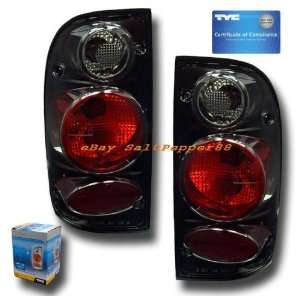 Toyota Tacoma Tail Lights Black Euro Taillights 1995 1996 1997 1998