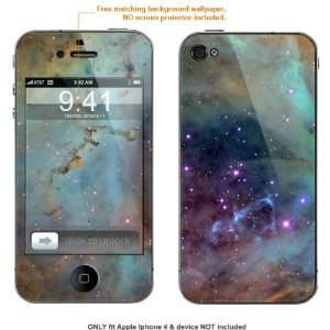 Skin Sticker for AT&T & Verizon Apple Iphone 4 case cover iphone4 558