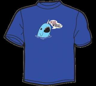 NARWHAL T Shirt WOMENS funny vintage cute threadless