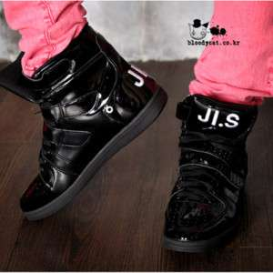 Punk Unisex Bloodycat High Tops Basketball Shoes 5~10