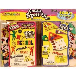 Creative Hands Foam Sports Kit Arts, Crafts & Sewing