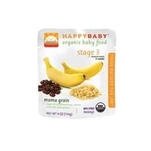 Happy Baby Mama Grain Stage 3 Baby Food (16x4 OZ):  Grocery