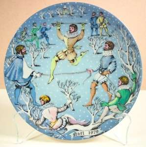 Haviland 12 Days of Christmas Ten Lords ALeaping Plate
