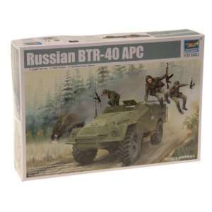 1/35 Russian BTR 40 Armored Personnel Carrier Toys