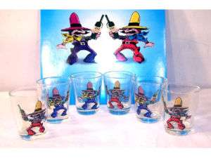 COWBOY SHOOT OUT SHOT GLASS DRINKING GAMES party game