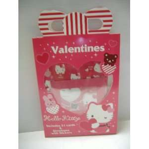 Hello Kitty Valentines Cards and Envelopes Toys & Games
