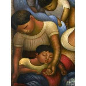 Diego Rivera Art Reproduction Oil Painting   Mother