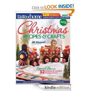 Taste of Home Christmas Recipes & Crafts Taste of Home Editors