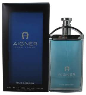 New AIGNER BLUE EMOTION Cologne Men EDT SPRAY 3.4 oz