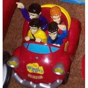 The Wiggles Wiggle N Giggle Big Red Car