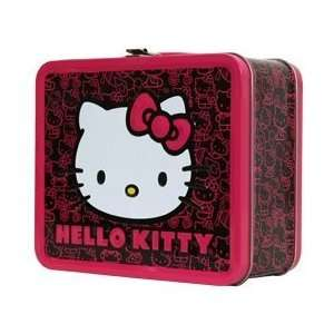 Hello Kitty Face Pink Bow Lunch Box SANLB0017